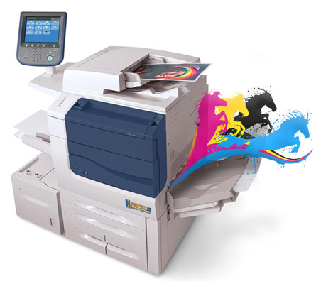 ЦПМ Xerox Color 550 - Заказать печать